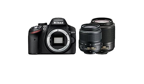 Nikon D3200 18-55II + 55-200mm: Amazon.es: Electrónica