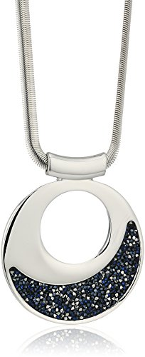 Kenneth cole new york silver large with blue sprinkle stone pendant kenneth cole new york silver large with blue sprinkle stone pendant necklace aloadofball Image collections