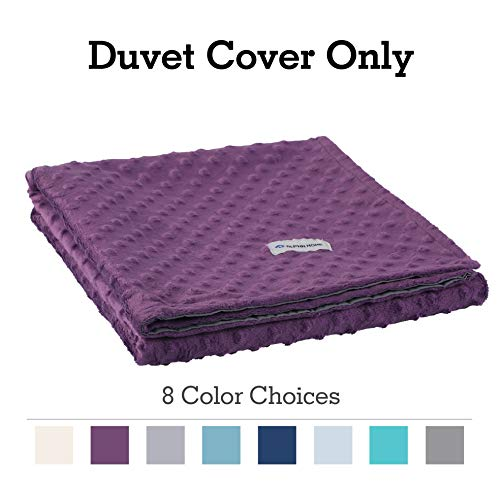 Cheap ALPHA HOME Removable Duvet Cover for Weighted Blanket Reversible Design 60