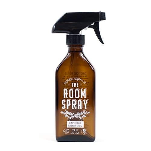 Brothers Artisan Oil Room Spray: Juniper Berry, Rosemary & Sage