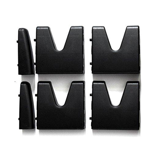 Multipurpose Cargo Organizer BlocksAIFUSI, Car Trunk Storage Organizer Blocks Set of 4 for Truck, SUV, Van (Black)