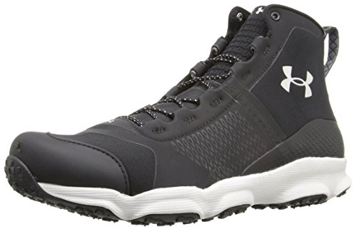 Under Armour Grip Cap - Under Armour Men's Speedfit Hike Mid Boot, Black (005)/Smoke, 9