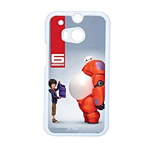 Generic Smart Design Back Phone Case For Guys Design With Big Hero 6 For Htc One M8 Choose Design 5