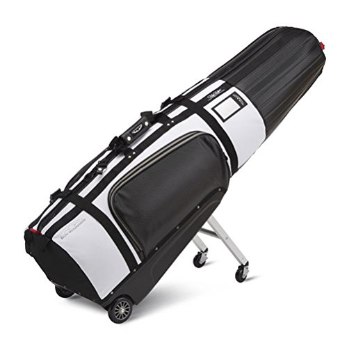 Sun Mountain 2018 ClubGlider Tour Series Golf Travel Cover Bag - Black-White by Sun Mountain