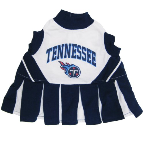 Tennessee Titans NFL Cheerleader Dress For Dogs - Size Medium 8bd273778