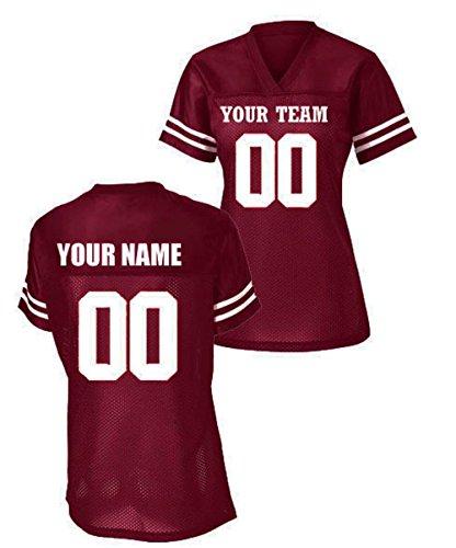 Womens Custom Football Replica Team Jersey (X-Large, ()