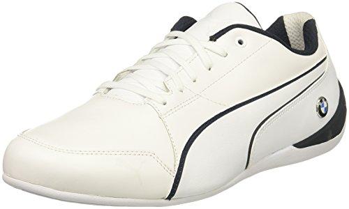 Puma Menns Bmw Ms Drift Cat 7 Sneaker Puma Hvit-teamet Blå-puma Hvit