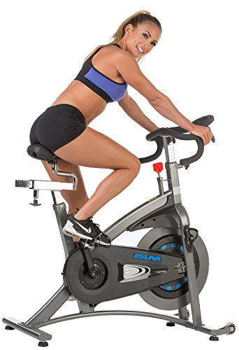 ASUNA 5100 Magnetic Belt Drive Commercial Indoor Cycling Bike Silver