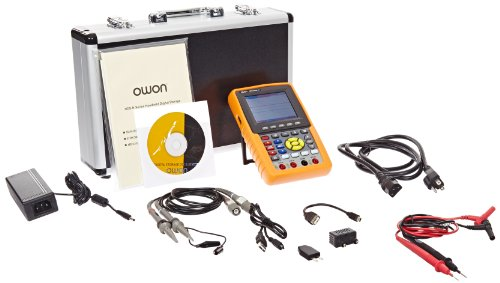 Owon HDS3102M-N Series HDS-N Handheld Digital Storage Oscilloscope and Digital Multimeter, 100MHz, 2 Channels, 500MS/s Sample Rate by OWON