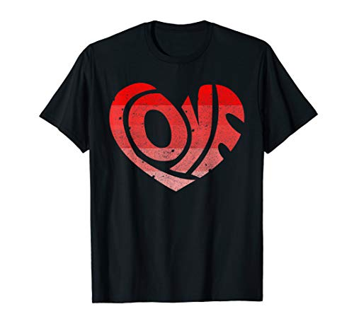 Price comparison product image Retro Valentine Heart Shirt Great Valentines Day Gift Tee