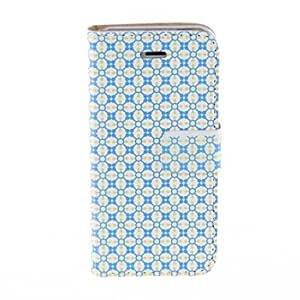 LZXKinston Alignment Beautiful Case Pattern PU Leather Full Body Case with Stand for iPhone 5/5S