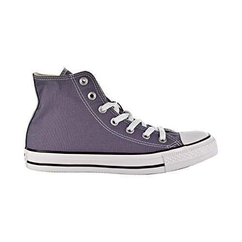 (Converse Women's Unisex Chuck Taylor All Star Seasonal 2019 High Top Sneaker, Moody Purple, 9 M US)