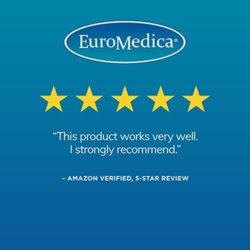 EuroMedica AnxioCalm – 45 Tablets – Clinically-Studied Supplement for Fast-Acting Relief of Occasional Stress Nervous Tension – Safe, Effective, Non-Drowsy – Perfect for Daily Use – 22 Servings