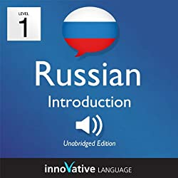 Learn Russian with Innovative Language's Proven Language System - Level 1: Introduction to Russian