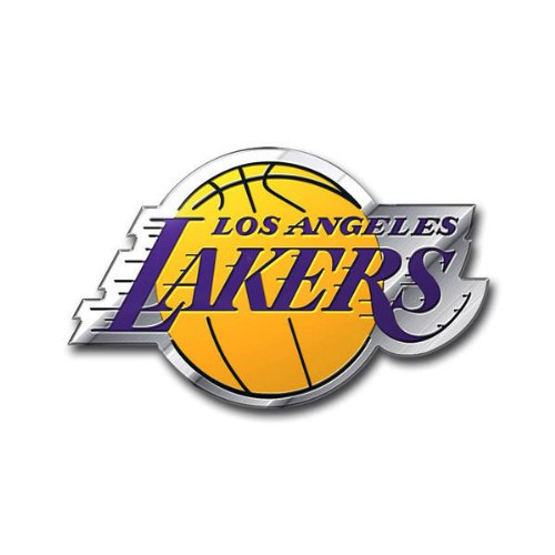 NBA Los Angeles Lakers Color Auto Emblem, One Size Los Angeles Lakers Car