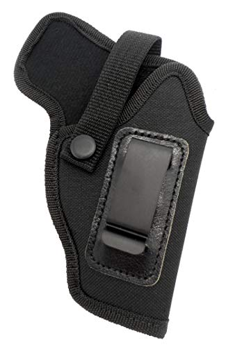HOLSTERMART USA Dual-Function OWB Belt Slide or Concealment IWB/AIWB Clip-On Holster with Body Shield for Walther P22, Ruger SR22 3.5