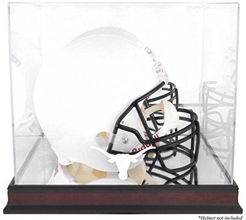 UPC 793388806509, Texas Longhorns Mahogany Logo Helmet Display Case