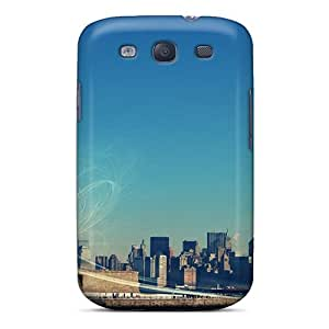 Case Cover New Yorks Statue Of Liberty/ Fashionable Case For Galaxy S3