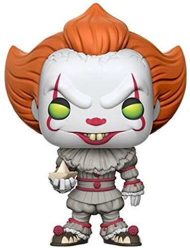 Funko Pop! Movies: It - Pennywise with Boat (Styles May Vary) Collectible Figure]()