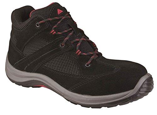 Delta Plus virages1p alta zapatos para hombre Nuevo trabajo de seguridad para no metálicos calzado negro