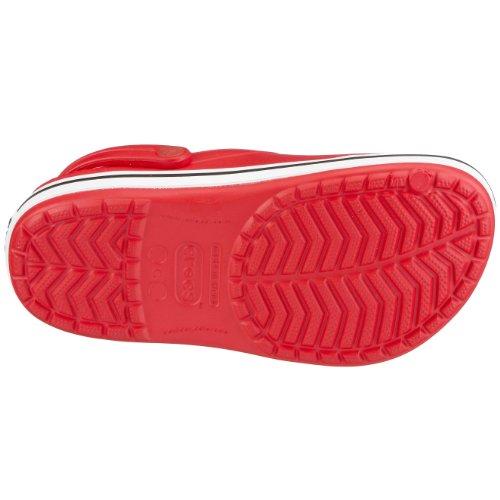Unisex Crocs Zoccoli Bambini Kids Crocband Rosso fqfrY4