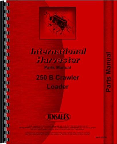 Parts Manual International Harvester 250B Crawler Loader