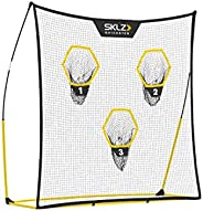 SKLZ Quickster Portable Football Training Equipment for Passing Accuracy (7x7 Feet)