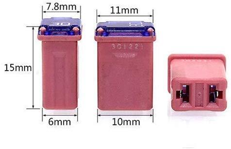 FMM Fuses MCASE Type Micro Cartridge Fuses 15Amp 20Amp 30Amp 40Amp 8PCS