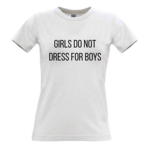 Femministe Per Ragazzi Donne Si Tee Ragazze Vestono Bianco Slogan Non I dwHg8YPq