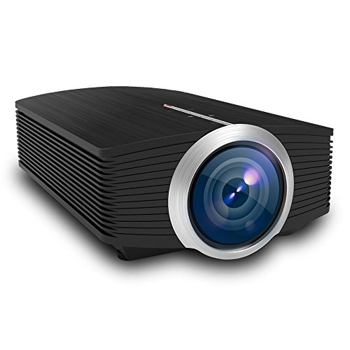 OMZER Mini LED Projector With 1600 Lumens 1080P