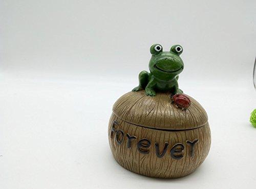 Znzbzt creative dessin animé cendrier cendrier avec couvercle nouvelle personnalité swing cadeau cendrier cendrier grenouille