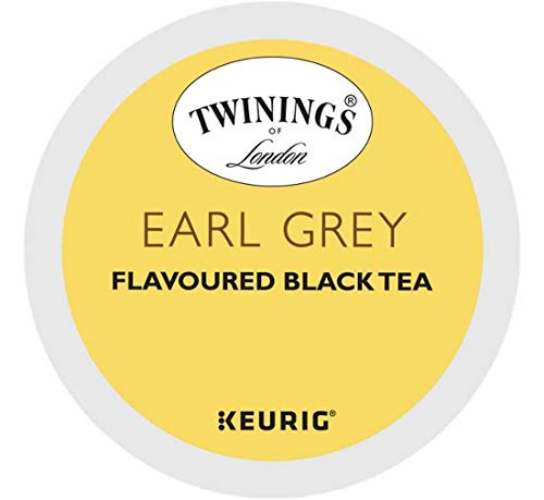 Keurig Tea and Ice Tea Pods K-Cups 18/22 / 24 Count Capsules ALL BRANDS/FLAVORS (Twinings/Chai/Celestial/Lipton/Tazo/Diet Snapple) (24 Pods Earl Grey Tea) -  Globalpixels