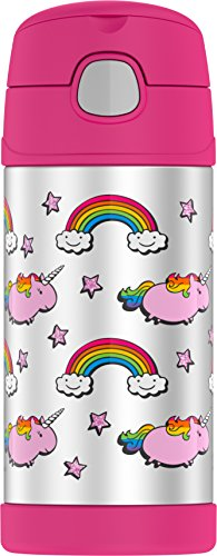 - Thermos Funtainer 12 Ounce Bottle, Fat Unicorn
