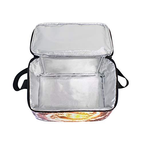 à néoprène Merveilleux d'épaule Boîte repas Sac sangle Mnsruu Tote enfants Cosmic lunch avec Galaxy Lunch Cooler isotherme en femme pour EwHc8Y