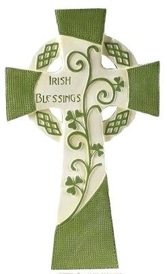 "10"" Irish Blessing Celtic Wall Cross"