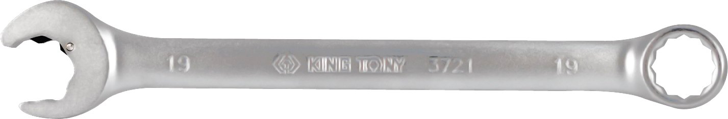 KING T. 372119 m-Chiave combinata a cricchetto con forchetta Speedopen metrico, 19 mm KING TONY 372119M