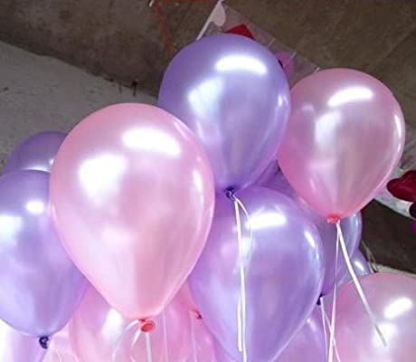 NEO 10 Pink /& Purple Latex Helium Balloons for Party Decoration 100pcs