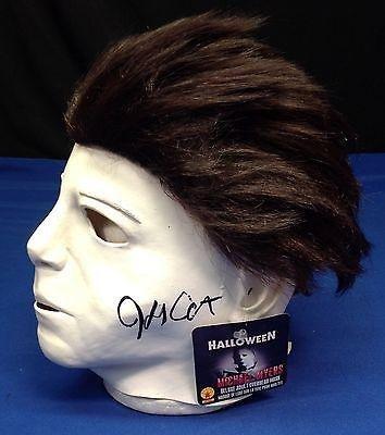 John Carpenter Signed Halloween Michael Myers Mask - # Z36678 - PSA/DNA Certified - NFL Autographed Miscellaneous...