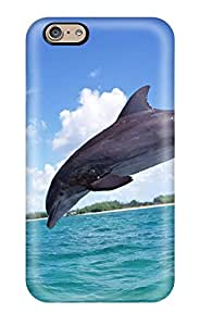 Abikjack HEilrPv7360KNefY Case For Iphone 6 With Nice Dolphins Appearance