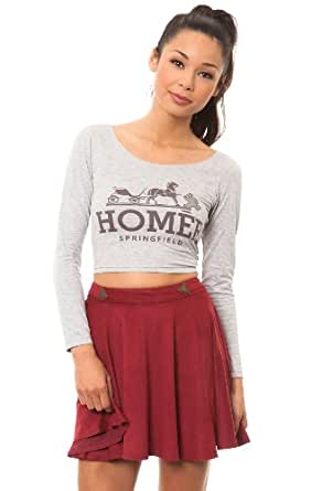 O-Mighty Women's Homer Top Small Gray