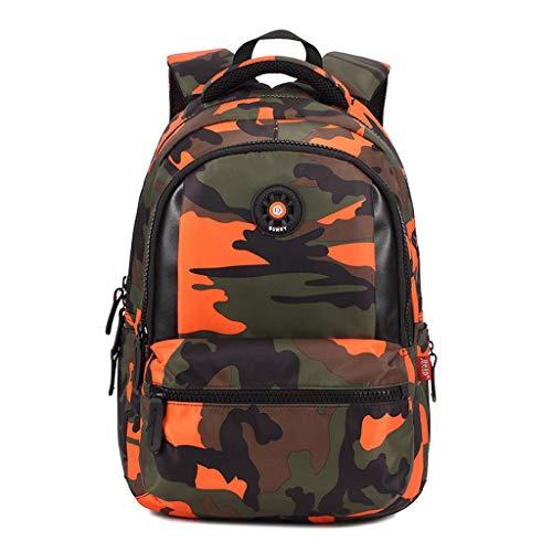 Vibola Backpack for Women,Large Capacity Laptop Double Shoulder Travel Daypack Satchel Bag,Casual Knapsack Purse (Orange)