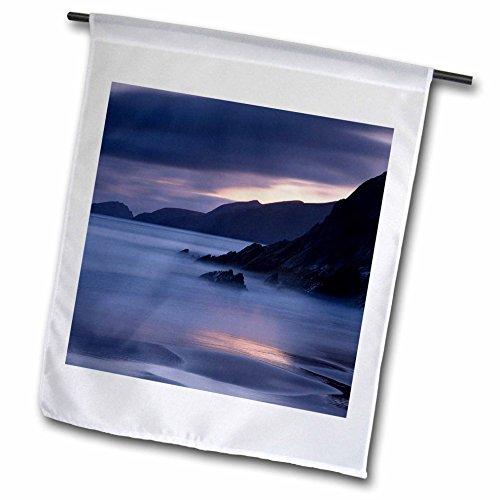 Slea Head - 3dRose Danita Delimont - Coastlines - Coastline of Dingle Peninsula at Slea Head, County Kerry, Ireland - 18 x 27 inch Garden Flag (fl_257699_2)