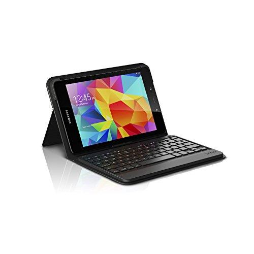 ZAGG Messenger Folio Case with Bluetooth Keyboard for Samsung Galaxy Tab E 9.7 - Black