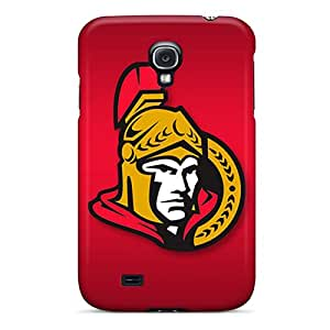 JohnPrimeauMaurice Samsung Galaxy S4 Protective Cell-phone Hard Covers Custom Beautiful Ottawa Senators Pattern [gGL19575aPtw]