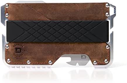 Dango Tactical EDC Wallet - Made in USA - Genuine Leather, Multitool, RFID Block