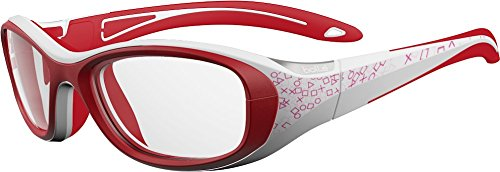 4114eef60c5 Bolle Kids Crunch Sport Protective Eyewear - White and Pink Frame ...