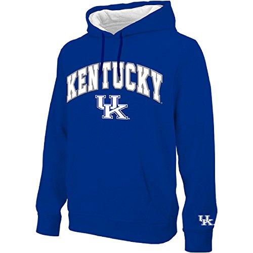 Kentucky Wildcats Arched Men's Hoodie Sweatshirt - Blue