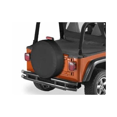 Bestop 61026-01 Black Crush X-Small Tire Cover for tires 26.5