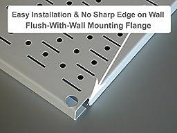 Wall Control 30-WRK-400GB Standard Workbench Metal Pegboard Tool Organizer