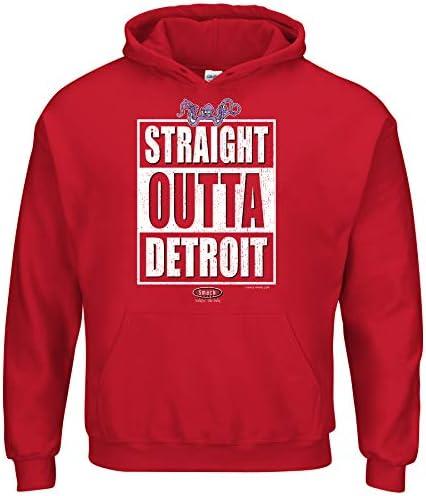 Sm-5x Smack Apparel Detroit Hockey Fans Trust The Yzerplan Red T-Shirt